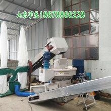 宇龍海南橡膠木雜木木屑顆粒機設備