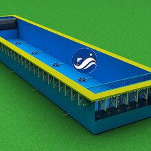 支架养鱼池,大型室内水产养殖设备,大型工厂化循环水养殖系统