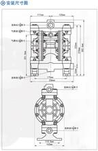 侠飞隔膜泵MORAK隔膜泵气动隔膜泵图片