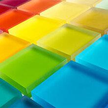 上海优游注册平台厂直销优游注册平台术树脂透光板树脂颜色胶片图片