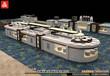 迪克餐廚設備自助餐臺廠家定制移動自助餐臺石材餐臺圖片定制