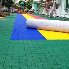 懸浮地板拼裝-深圳寶安幼兒園懸浮地板安裝施工案例-深圳健宇體育-值得信賴圖片