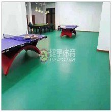 PVC地板铺设施工-深圳健宇体育-真实用材-严谨施工图片