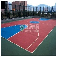 深圳球场施工-篮球场施工-一站式全方位运动场地建设-深圳市健宇体育图片