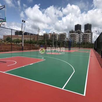 深圳篮球场施工-网球场施工-深圳足球场施工-深圳健宇体育