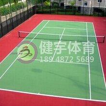 深圳专业塑胶跑道施工-操场改造工程-球场建设工程-健宇体育图片