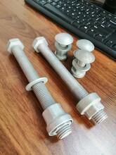 防盜螺母,防盜護欄螺栓,表面處理熱鍍鋅,性能級別國標8.8級圖片