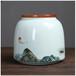 定制禮品陶瓷茶葉罐紅茶綠茶通用陶瓷罐景德鎮茶葉罐廠家