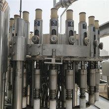 二手液體灌裝設備二手飲料灌裝機回收