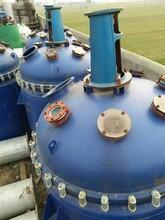 永腾二手搪瓷釜,益阳10吨搪瓷反应釜低价供应图片
