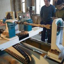 山东数控木工车床多功能铣槽雕刻车床木旋机床制造工厂图片