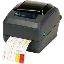 zebra斑马GX430t快速高性能300点条码打印机