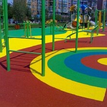 重庆渝中彩色透水混凝土增强凝结剂材料厂家直销施工指导图片