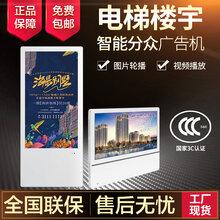 广州锐观RG190BD19寸分众竖屏壁挂广告机高清led广告显示屏19寸单机/网络智能广告机图片