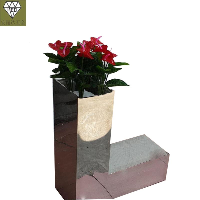 湖北花盆装饰、成品花箱尺寸加工定制