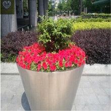 江蘇花盆裝飾、防腐木花箱做法來圖加工圖片