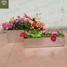 云南花盆架子、花箱规格加工定制图片