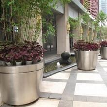 重庆花盆制作、防腐木花箱做法来图加工图片