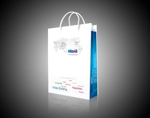 手提袋定制印刷纸袋定做礼品袋定制服装包装袋白卡纸袋