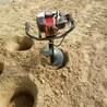 钻土挖树机园林机械单人48cc发动机裸发动机不带钻头