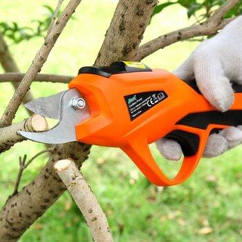 园林绿化修剪机果树清淤剪刀v果树树枝剪菠萝剪鱼塘采摘泥机图片