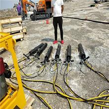 市政工程居民區不能放炮開石機_型號規格甘肅定西圖片