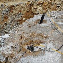 六盤水溝渠挖掘遇到硬石頭用什么設備效果