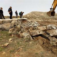 安陽溝渠挖掘遇到硬石頭巖石劈裂棒型號規格