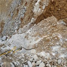 液壓無聲設備開采石頭開石機_產品優點江西南昌圖片