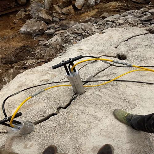 石头开采不能用炸药爆破用什么_售后部云南临沧