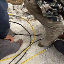 紹興石頭礦山開采不能爆破用什么設備效果
