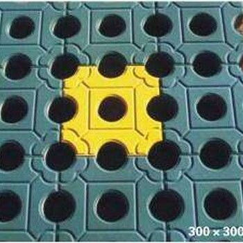 中孔植草砖模具、草坪砖磨具、停车场植草砖市政专用塑料模具