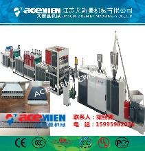 塑料建筑模板生产线塑料模板机器中空模板生产设备图片