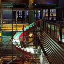 厂家直销商场大型不锈钢滑梯