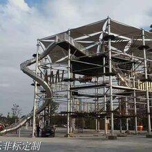 不锈钢滑梯拓展组合户内外儿童游乐场设备生产厂家直销