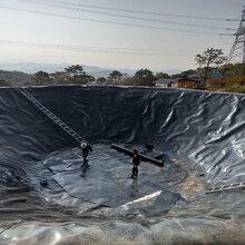 洛阳市生产垃圾填埋场hdpe土工膜藕池水库防渗用今天我就亲眼看看土工膜图∴片