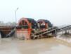 安徽淮北定制移動斗輪式破碎洗沙機,濰坊正邦重工機械