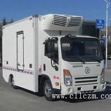 4.05米大运纯电动蓝牌冷藏车,节能环保的好选择!