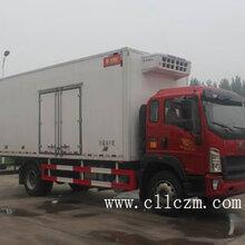6.64米重汽豪沃冷藏车品质精良,值得信赖!