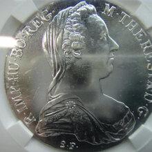 奥匈大奶妈1870年银币值多少钱,奥匈泰勒女皇银币鉴定交易中心图片
