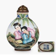 清代的鼻烟壶价值多少钱?重庆九龙坡古玩鉴定交易中心图片