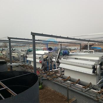 供應重慶江北泥漿榨干機3.5米帶式壓濾機報價