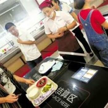 深圳智慧餐台智慧餐饮自动结账系统2-3秒快速结账