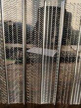 轻钢别墅灌浆钢网模A轻钢墙体楼灌浆钢挂网A灌浆网有筋扩张网厂家图片