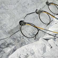 土石方工程替代炸药开石头分石机展示陕西榆林图片