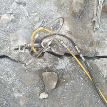 四川路基替代破碎錘打地基破石頭機器怎么選擇圖片