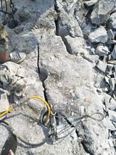 鄞州巖石拆除液壓劈裂機圖片