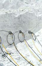 挖基础开石头劈裂棒液压劈裂机云浮企业资讯图片