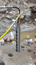莆田开挖石头工程开挖石头静态撑石机日产多少图片