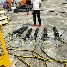 露天岩石分石头液压劈裂机营口企业资讯图片